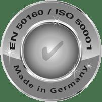 EN 50160 / ISO 50001 Made in Germany